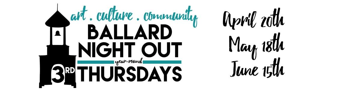 Ballard Night Out - Ballard Art Walk, Seattle, WA