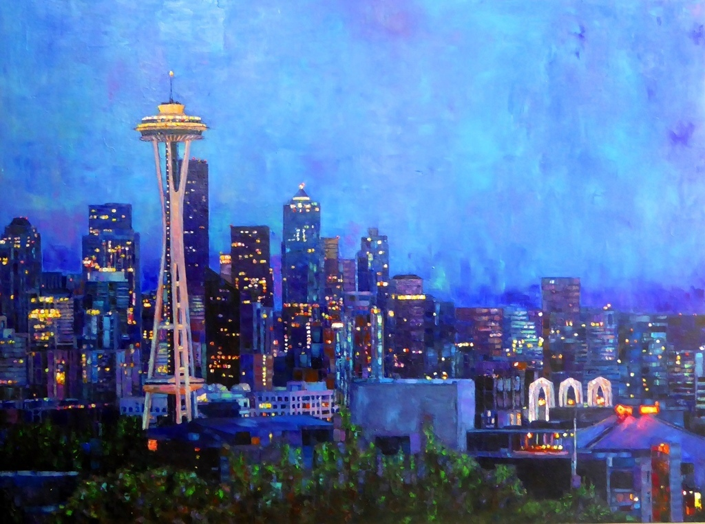 Art Calendar Seattle : Bluebird ice cream art show seattle calendar local