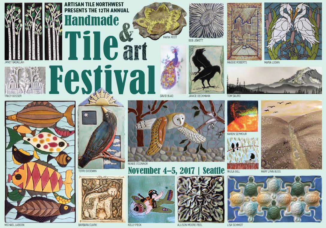 Art Calendar Seattle : Handmade tile and art festival seattle calendar