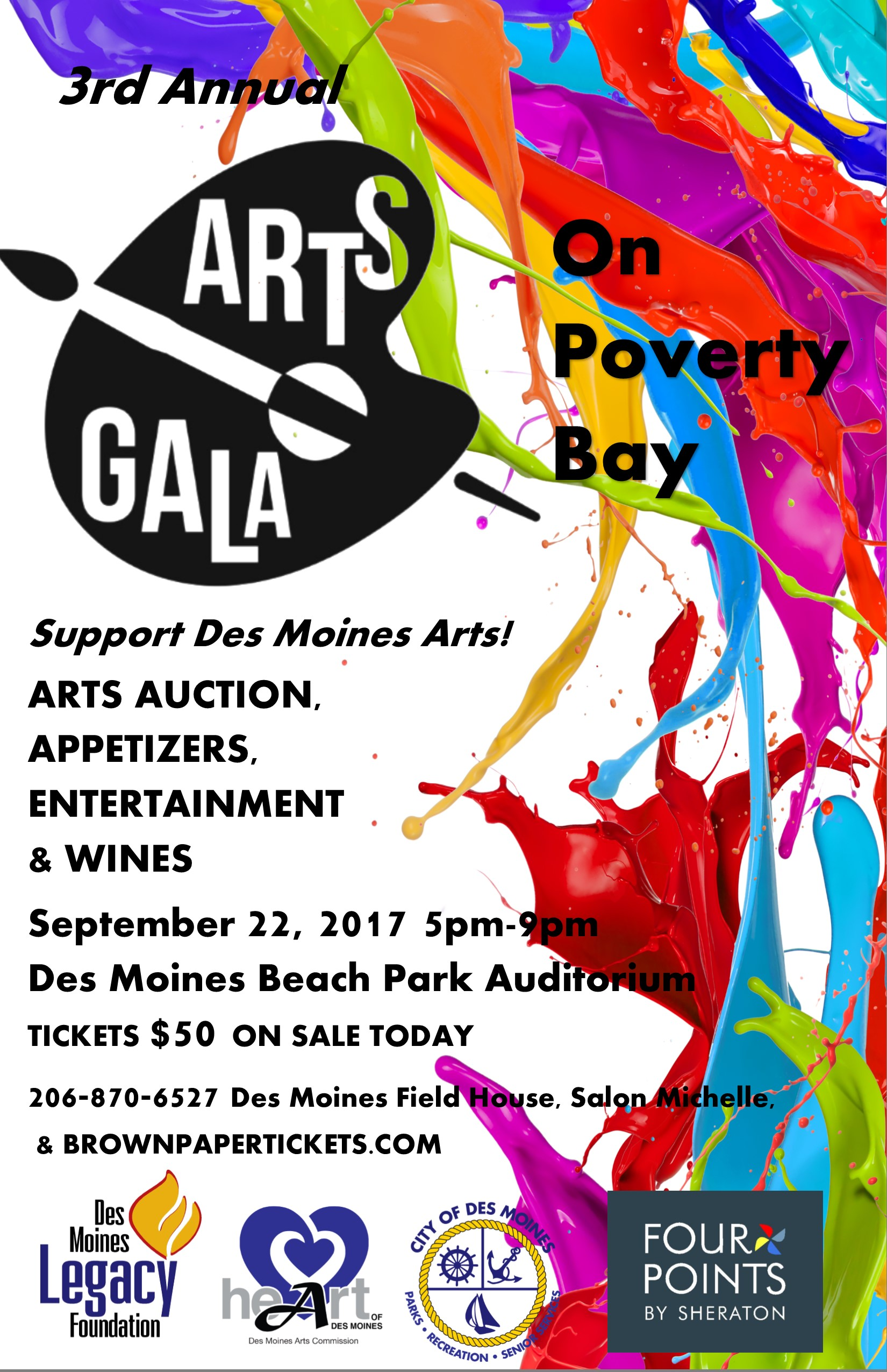 Art Calendar Seattle : Arts gala on poverty bay seattle art calendar local