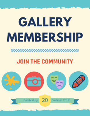 Learn about our Gallery Membership
