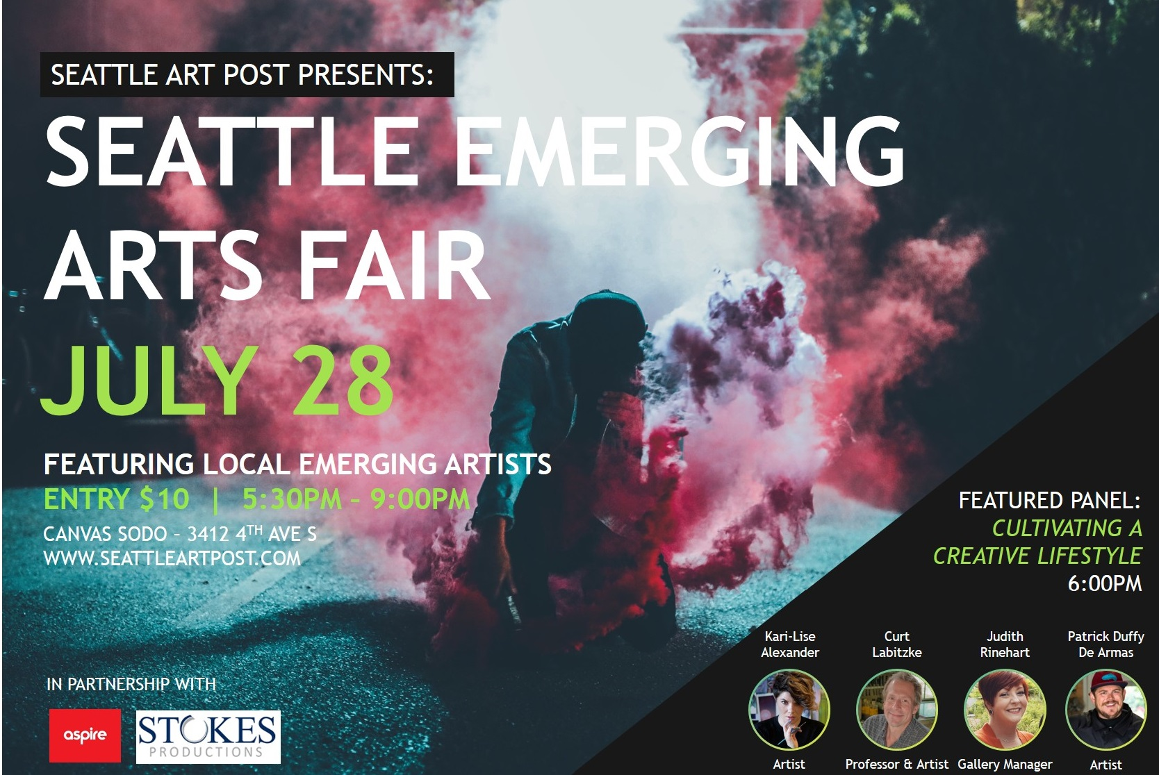 Art Calendar Seattle : Seattle emerging arts fair art calendar local
