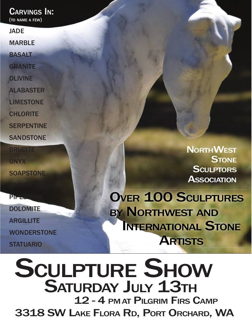 Outdoor Stone Sculpture Show - Seattle Art Calendar - Local