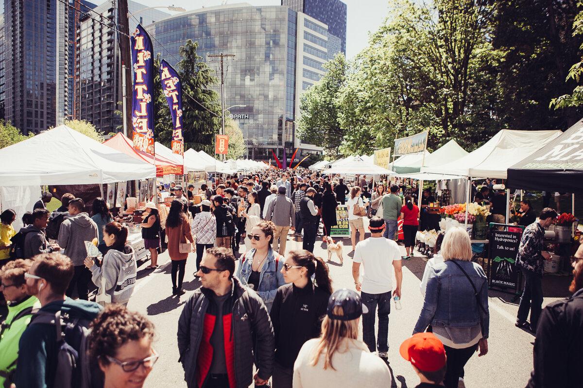 Seattle South Lake Union Saturday Public Market