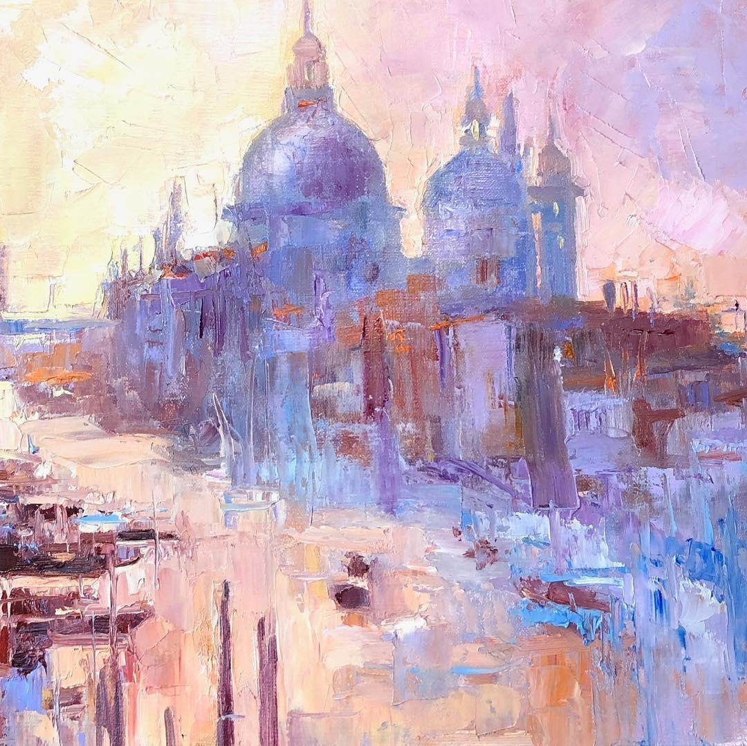 Venice, Grand Canal by Emiliya Lane