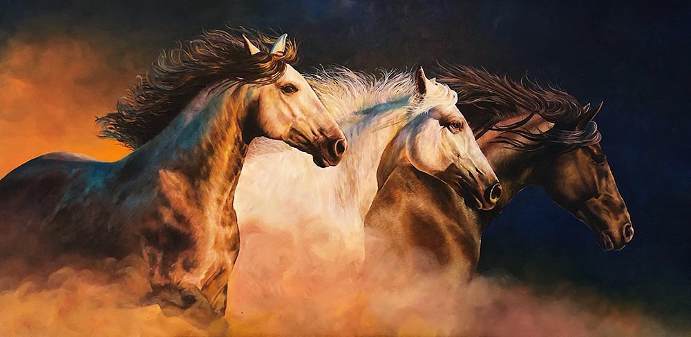 """Wild Freedom"" by Thelma Haffner"